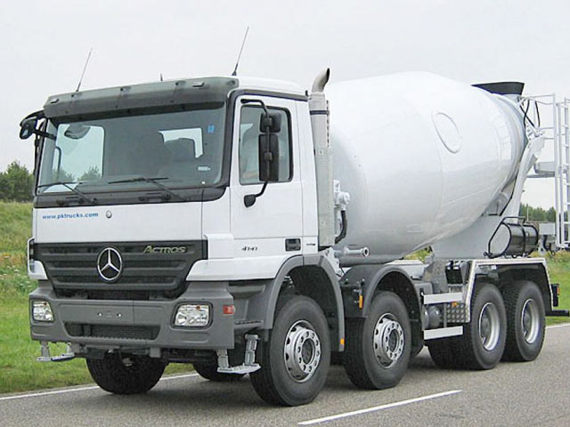 Mixing Concrete Truck